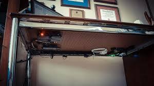 under desk cable management