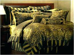 brown and gold bedding black bed set sets white