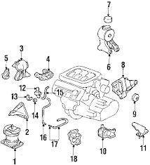 parts com® honda odyssey engine parts oem parts 2000 honda odyssey lx v6 3 5 liter gas engine parts