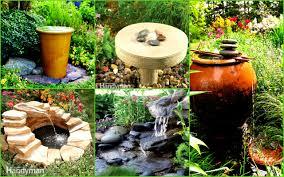 12 amazing diy water fountain ideas