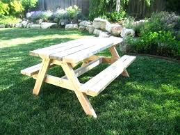 8 foot picnic table plans picnic table with detached benches picnic table plans round picnic table