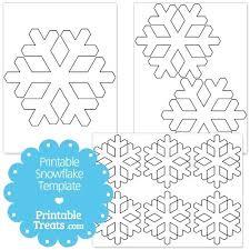 Snowflakes Templates Printables Printable Snowflake