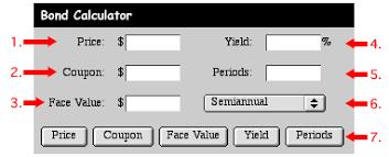 Bond Calculator Introduction