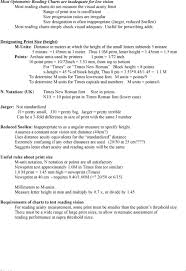 Near Vision Reading Chart Assessment Of Reading Vision In Low Vision Patients Pdf