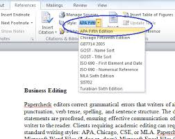 Apa Word Template 2015 Microsoft Bibliography Builder Word 2010