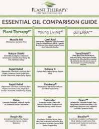 Plant Therapy Kid Safe Chart Dilution Chart Magnet