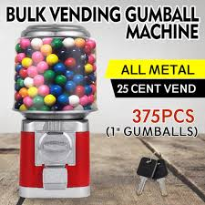 Wholesale Candy Vending Machines Extraordinary BULK Vending Gumball Machine Shatter Resistant Accepts Quarters Only