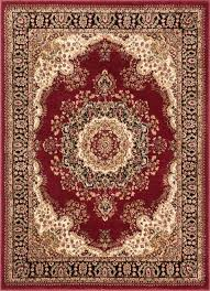 well woven aurora mahal traditional oriental medallion persian red area rug traditional area rugs by well woven