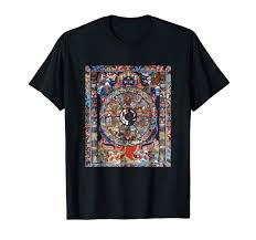 Bhavacakra Chart Amazon Com Yama God Of Death T Shirt Wheel Of Becoming