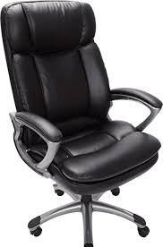 V Serta 43675 Faux Leather Big U0026 Tall Executive Chair Black