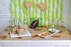 Cheap Super Bowl Decorations DOLLAR STORE FOOTBALL PARTY DECORATIONS Mad in Crafts 59