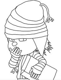 Small Picture Edith Ninja Despicable Me 2 Coloring Page Despicable Me Coloring