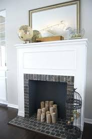fake fireplace diy faux fireplace under