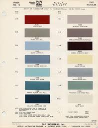 1965 Pontiac Color Chart 14 Explanatory Engine Color Chart