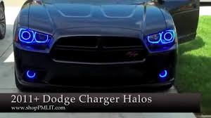 2012 Charger Halo Lights Oracle Dodge Charger 11 14 Headlight Halo Kit By Shoppmlit