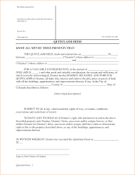 Quit Claim Deed Form 86 Free Templates In Pdf Word Excel Download