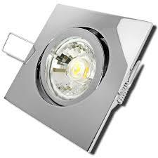230v Dario Einbaustrahler Led Ip20 5w Leuchte Aluminium