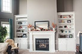 Would love this fireplace mantel and cabinet/shelves in alcove next to my  fireplace.   Mantels   Pinterest   Fireplace mantel, Mantels and Alcove