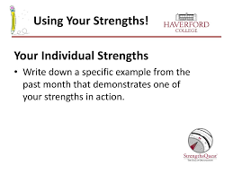Individual Strengths Sophomore Success Series Ppt Download