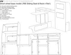 side furniture unit vw t4 t5 constructed in vohringer ply