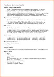 Interest Resume Therpgmovie