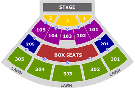 Cricket Amphitheatre Seating Chart Irvine Summer Outdoor Concerts At Verizon Wireless Tba