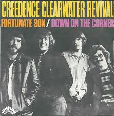 Image result for ccr fortunate son 45