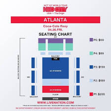 Nct 127s 1st World Tour Neo City The Origin Seating