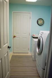 In order to utilize this space I had to have the door open to enter the  laundry ...