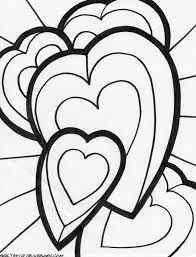 Small Picture 536 best hearts coloring images on Pinterest Coloring books