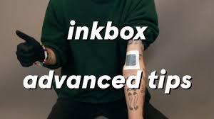 Tattoo Tips Inkbox