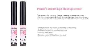eraser on the clic panda s dream eye makeup eraserpandas tony moly and fun beauty brands