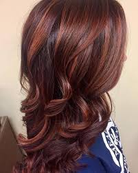 dark brown and indian red dark brown and red hair color