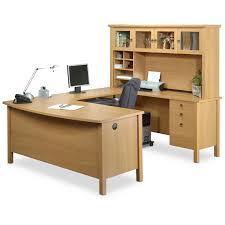 ... Varnished Oak Wood Executive Desk
