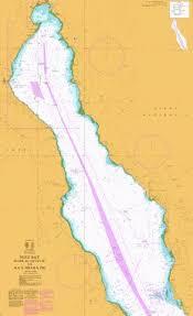 Suez Bay Bahr Al Qulzum To Ras Sharatib Marine Chart