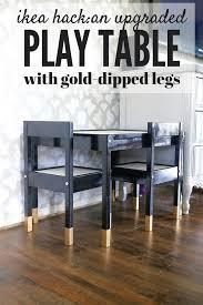 diy ikea play table using just