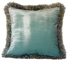 Decorative Pillows With Fringe