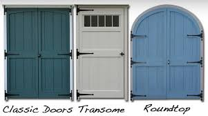 Deluxe Storage Shed Doors - Storage Sheds Galleries .
