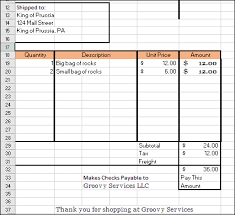 excel spreadsheet invoice templates how to create your own invoice from scratch in excel 2016