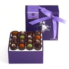 dark chocolate truffle collection 16 pieces