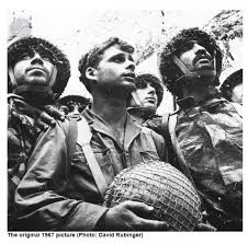 Image result for David Rubinger's picture of SOldiers at th ewestern Wall