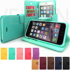 lock flip book wallet leather case cover for apple iphone x 8 7 4s 5s 6