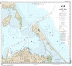 14845 Sandusky Harbor Nautical Chart
