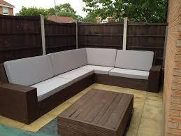diy patio sofa plans. charming diy outdoor sectional sofa diy pallet tutorial patio plans