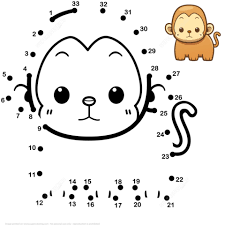 Cute Baby Monkey Coloring Pages Nauhoituscom All About 10k Top