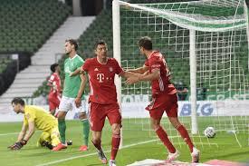 Бавария» дежурно обыграла «Вердер» и стала чемпионом Германии восьмой раз  подряд
