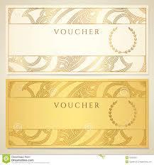 Gift Certificate Voucher Template Template Voucher Gift Certificate Coupon Template Bow Royalty 19