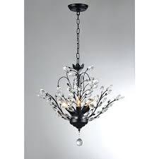 black 5 light chandelier aria 5 light black inch crystal leaves chandelier ivana 5 light antique