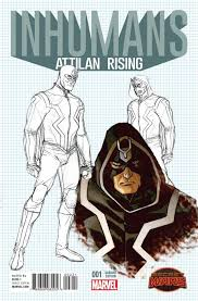 marvel ics s inhumans attilan rising issue 2b