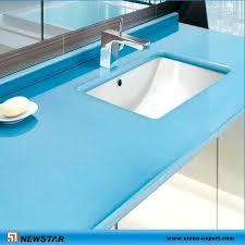 blue quartz countertops china bathroom design red cobalt sparkle stone